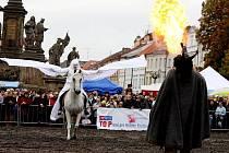 Svatováclavské slavnosti na hradeckém Velkém náměstí, 28. září 2010.
