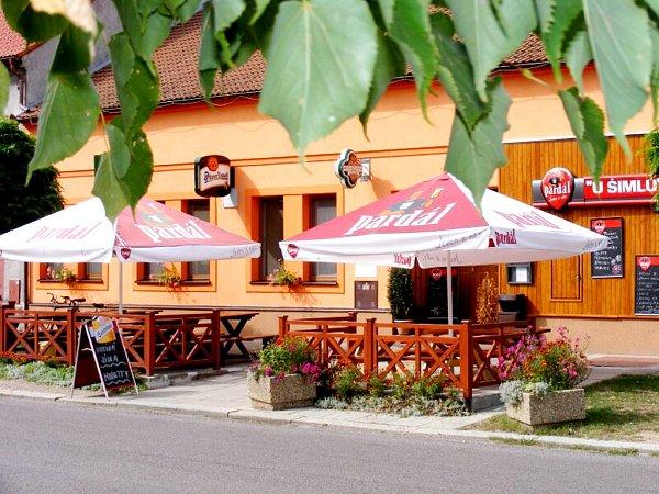 Restaurace UŠimlů vNechanicích.