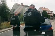 Zadržení zfetovaného řidiče.