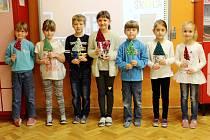 Žáci ze Základní školy Dohalice.