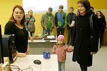 Den otevřených dveří ve Střední škole uměleckoprůmyslové v Ústí nad Orlicí.