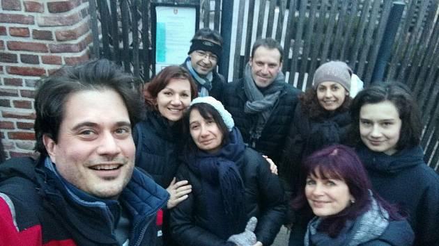 Francouzští učitelé na návštěvě v Hradci Králové