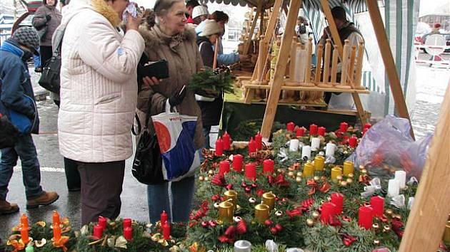 Adventní trhy v Muzeu východních Čech a Adalbertinu (listopad 2010).