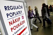 Regulační poplatky v nemocnici.