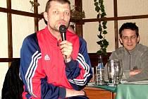 Petr Mrkvička, trenér TJ Sokol Třebeš.