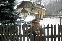 Miroslav Vojtěch u hájenky.