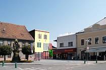 Třebechovice, náměstí - ilustrační foto.