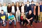 Vyhlášení nejlepších volejbalových mládežníků a trenérů kraje v Hradci Králové.