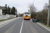 Dopravní nehoda v Hradci Králové