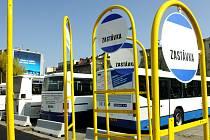 Bývalé autobusové nádraží U Koruny