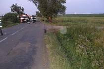 Smrtelná dopravní nehoda Renaultu