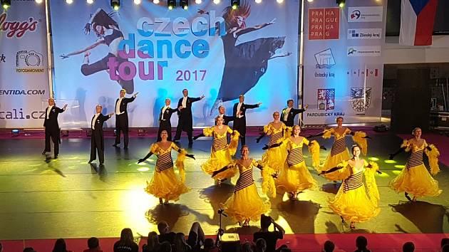 Taneční škola TAK Dance Krok Hradec Králové na soutěži Czech Dance Tour.