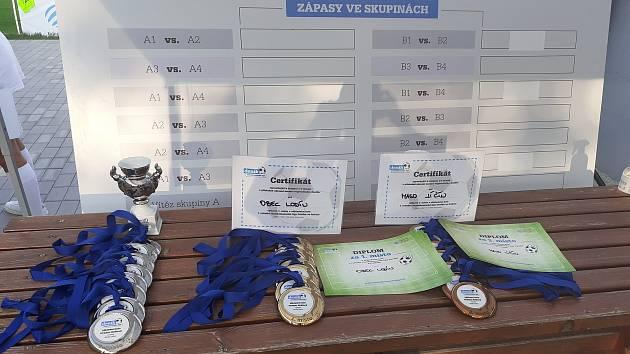 Turnaj Zaměstnanecké ligy Deníku v Hradci na Háječku se vydařil.
