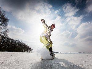 Bruslení na ledě