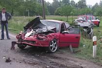 Autentické záběry z místa nehody