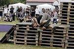 ArtMoving parkour challenge v areálu Slezské plovárny v Hradci Králové.
