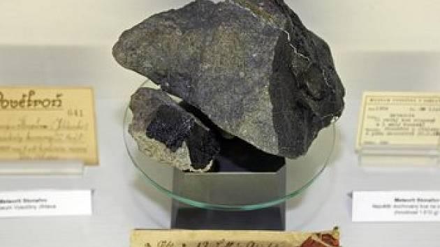 Meteorit - ilustrační obrázek.