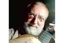 Štěpán Rak, vynikající český kytarista a skladatel.