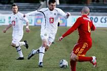 I. fotbalová Gambrinus liga: FC Hradec Králové - FK Dukla Praha.