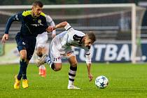 Fotbalová národní liga: FC Hradec Králové - FK Varnsdorf.