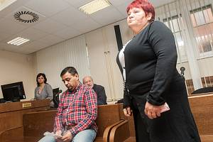 Erik Harvan a Erika Harvanová u Krajského soudu v Hradci Králové.