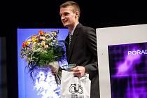 Oceněný atlet Michal Desenský.