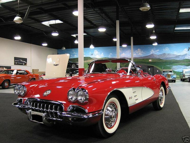 Chevrolet Corvette Roadster	1960