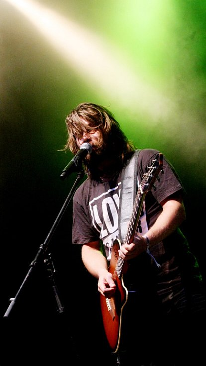 Kryštof sklidil na Rock for People 2008 v Hradci Králové velký úspěch