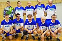 Vítězný tým turnaje - Lokomotiva Hradec Králové.