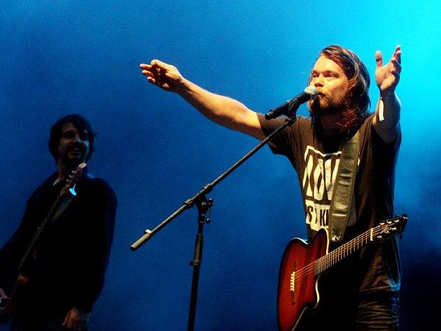 Richard Krajčo na Rock for People 2008