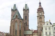 Bílá věž v Hradci Králové - dominanta krajského města.