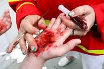 Soutěž mladých zdravotníků v Hradci Králové