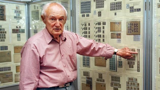 Filatelista Karel Holoubek