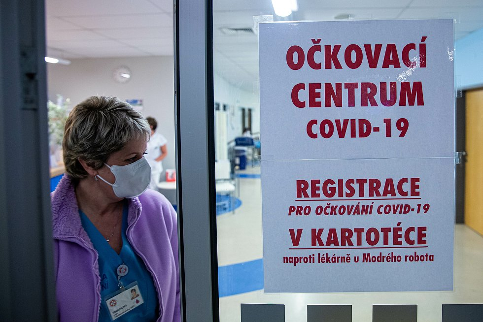 Očkovaní na Covid-19 ve Fakultní nemocnici v Hradci Králové