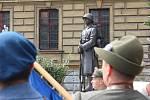 Takřka po 80 letech se do Hradce Králové vrátil pomník legionářů.