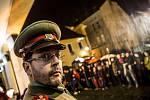 Vzpomínka na 17. listopad a Václava Havla v Hradci Králové.