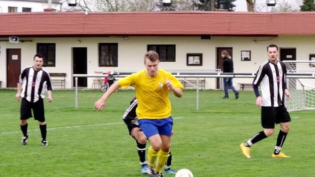Krajská fotbalová I. A třída FC Nový Hradec Králové - TJ Sokol Roudnice.
