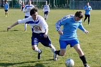 Fotbalová příprava: Dobruška - Černilov.