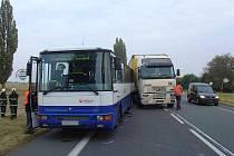 Nehoda v Bříze v úterý 15. září.