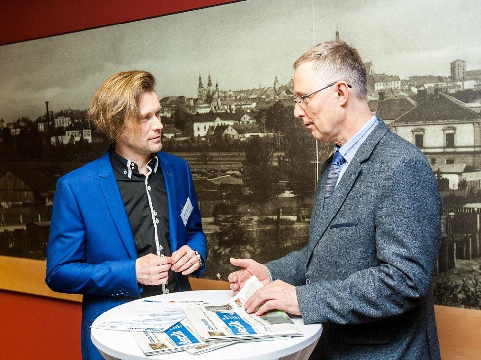 Setkání s hejtmanem v rámci projektu Deník s vámi v Královéhradeckém kraji.
