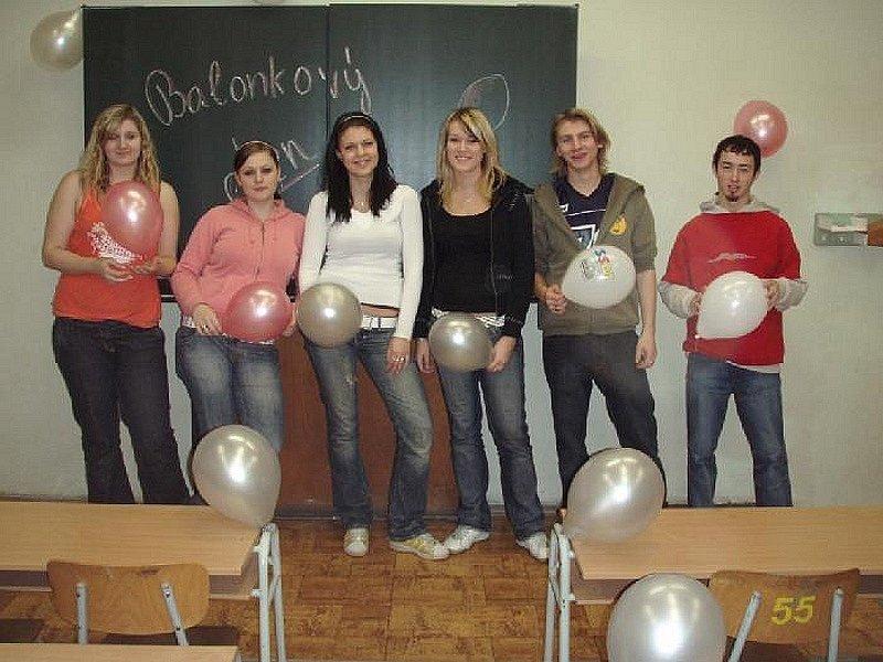 Balónkový den třídy 4.BO.