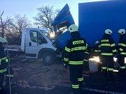 Nehoda uzavřela silnici u Výravy na celé dopoledne.