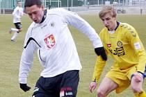 Fotbalová juniorská liga: FC Hradec Králové - FC Vysočina Jihlava.