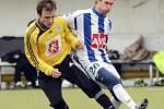 Přípravný fotbal: FC Hradec Králové (žlutočerné dresy) - Čáslav