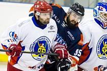 Krajská hokejová liga: SK Třebechovice pod Orebem - HC Jičín.