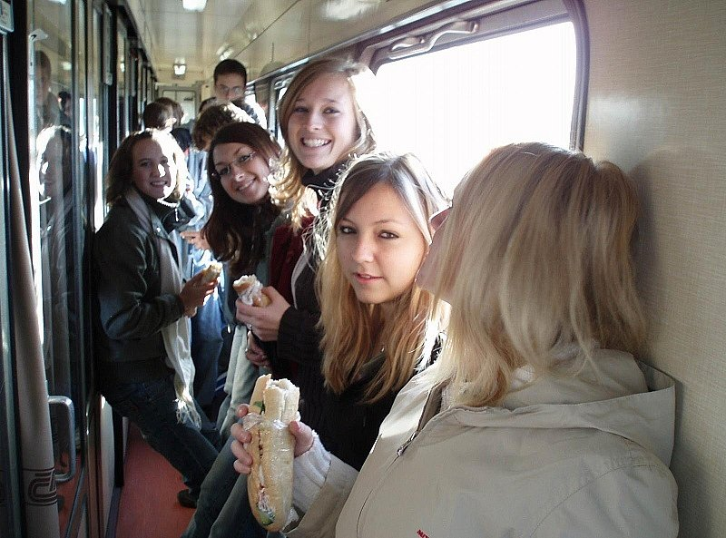 Musíme se posilnit na cestu po Praze.