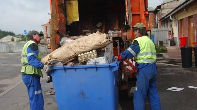 Svoz odpadu v HK