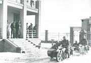 Okupace královéhradeckého letiště.