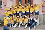 Děti z tanečních skupin M.A.D. Style při DDM Třebechovice pod Orebem.
