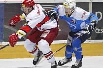 Extraliga ledního hokeje: Mountfield HK - HC Škoda Plzeň.